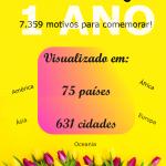 Falando Português | 1 Ano de Blog
